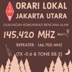 Frekuensi ORARI lokal Jakarta Utara