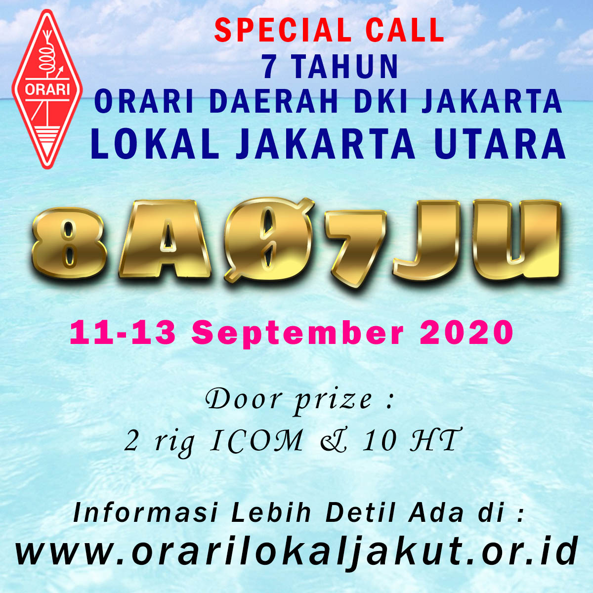 8A07JU Special Call 7th Anniversary